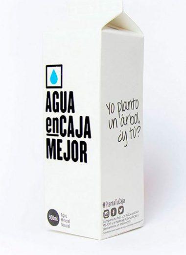 Agua en caja canaria 500 ml