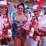 Agua en caja canarias Carnaval