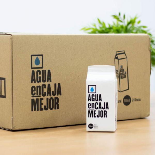 venta agua en caja canarias 300ml
